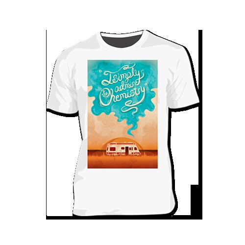 4b275a6663 Camiseta Breaking Bad - Pronto Pra Curtir