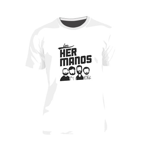 8b213d8521 Camiseta Los Hermanos - Pronto Pra Curtir